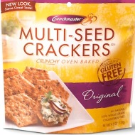 Crunchmaster Multi-Seed Crackers - Low FODMAP