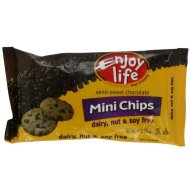 Enjoy Life Semi-Sweet Chocolate Chips - A Low FODMAP Food