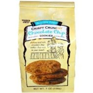 Trader Joe's Gluten Free Crispy Crunchy Chocolate Chip Cookies - Low FODMAP