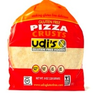 Udi's Gluten Free Pizza Crust - Low FODMAP