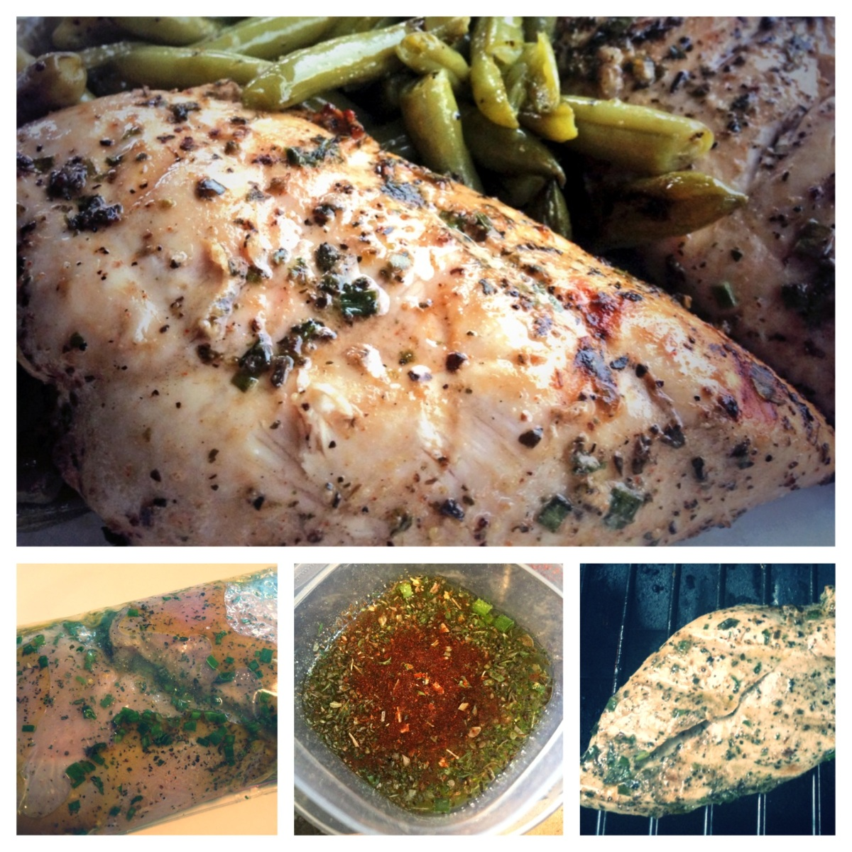 Low FODMAP Red Wine Chicken or Steak Marinade Recipe | Living Happy with IBS