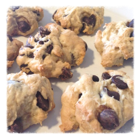 Low FODMAP Chocolate Chip Cookies